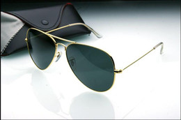 1ddad9bbb6 2017 NEW Designer Classic Sunglasses Mens Womes Sun Glasses Eyewear Gold  Frame Brown 58mm Glass Lenses Large Metal With Better Brown Case