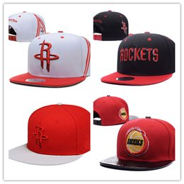 Wholesale Cheap White Baseball Hats - New Arrival Basketball Cowboy Baseball Snapbacks cap Womens Mens Flat Caps Hip Hop Cheap Sports Hats