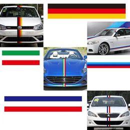 Wholesale El Car Stickers - Car Flag Sticker Cover For BMW E46 E52 E53 E60 E90 X1 X3 X5 X6 E39 E36 Z4