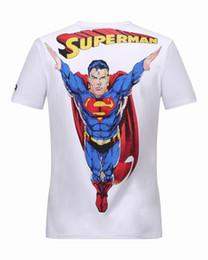 Wholesale Superman Mens - 2color 2017 superman Original Camouflage Skull qp Mens Fashion Short Sleeve 100% Cotton turn-down collar Pp Men's T-Shirts Sweatshirts