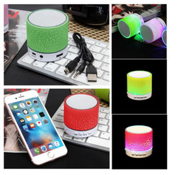 Wholesale Memory Cards Mobile Phones - new Mini Bluetooth Speakers Wireless Speaker With USB Mic Blutooth tf card Memory function rudio Pink_2