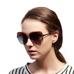 Wholesale Ultraviolet Rays Sun - New Brand Designer Polarized Sunglasses For Women Star Retro Women Luxury Sun Glasses With High Quality Frame Rays Anti-Ultraviolet UV400