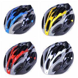 radhelm rot weiß blau Rabatt Catazer Best Selling Fahrradhelm Light MTB Helm Über Rot Gelb Weiß Blau Farben Fahrradhelm