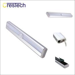 2019 magnetische lichtstreifen LED-Nachtlichter Helles LED-PIR-Sensor-Nachtlicht mit Magnetstreifen günstig magnetische lichtstreifen