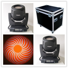 Wholesale Spot Moving Head Light Wash - 2xlot with flight case 17R 350W Beam Spot Wash 3 in 1 Moving Head Light DJ Disco Club Stage Light beam light