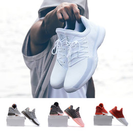 Wholesale Hot Box Train - (With Box) Hot Harden Vol. 1 BHM Black History Month Mens Basketball Shoes Fashion James Harden Shoes red Outdoor Sports Training Sneakers