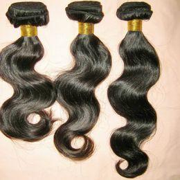 Wholesale West 12 Wholesale - 300g lot Unprocessed Natural Peruvian Weave Body Wave Bundles Can Change color West promotions
