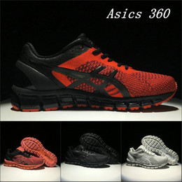 Wholesale Gold Cycling - 2017 New Asics Gel-Quantum 360 T728N High Quality Running Shoes Wholesale Original Men Women Athletics Discount Sneakers 37-45