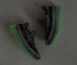 Wholesale Cycle Bags Red - 2016 Glow In the Dark Turtle Dove Grey Sply 350 V2 Boost Kanye West Running Shoes with Keychain+Socks+Bag Original Box Grey V2 Shoes