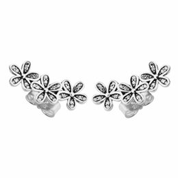 494842a82 Stud earrings for women S925 Sterling silver earrings stud fits pandora  style jewellery charms free shipping best quality Dazzling Daisies pandora  jewellery ...