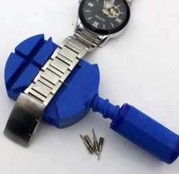 Wholesale Table Pin - Metal dismantling table ware Watch tool split table ware bracelet regulator steel belt strap watch down the demolition