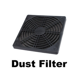Wholesale Computer Fan Screen - Wholesale- 120mm Fan Dust Filter Dustproof Screen PC Computer Case Mesh PC Case Fan Dust Sponge Filter Black