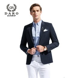 Wholesale Fly Services - Wholesale- (Only Accept Custom Tailor Service) DAROuomo Men Blazer and Jacket Slim Suits Casual Coats Party Dress Custom Tailor