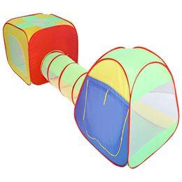 Wholesale-Color Play Zelte Portable Große Pool-Tube-Tipi 3 in 1 Pop-up Spiel Zelt Kinder Tunnel Kinder Spielhaus Spielzeug Baby Laufgitter von Fabrikanten
