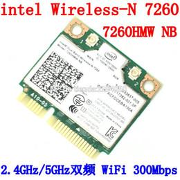Wholesale Intel Wireless Mini Pci - Wholesale- intel Dual Band Wireless-N 7260 7260HMW NB Half Mini PCIe PCI-express WLAN WIFI Card Module 802.11 a b g n