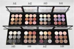 Canada Meilleure qualité ! Palette de fard à paupières M Makeup Brand 9 couleurs Nude Makeup avec des palettes de maquillage de palette nues logo cheap eyeshadow naked nude Offre
