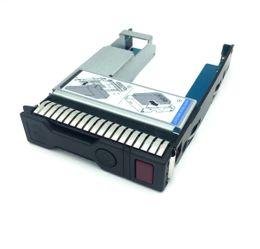 "fujitsu hard disks Desconto 651314-001 + 9W9C4 2.5 ""SSD PARA 3.5"" SATA Conversor Caddy Bandeja Do Disco Rígido para o servidor hp Gen8 / Gen9"
