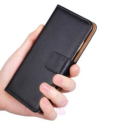 Wholesale S4 Pocket - For Samsung Galaxy s8 plus s7 edge s6 s5 s4 s3 Genuine Wallet Leather Case Holder Pocket Flip Stand Cover For Note 2 Note 3 Note 4