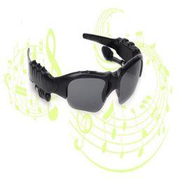 2019 lunettes de soleil casque bluetooth universel Lunettes de soleil Bluetooth Lunettes d'extérieur avec micro Casque Bluetooth Musique Casque sans fil Bluetooth pour iPhone 7 7plus Samsung lunettes de soleil casque bluetooth universel pas cher