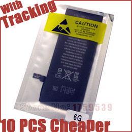 Wholesale Oem Mobile Phone Battery - iP6G new 0 cycle Battery OEM neutral Sealed package without LOGO For Apple iPhone 6 6G iPhone6 Mobile phone Batteries