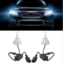 Wholesale Dome Light Kit - 2Pcs Lot 30W LED Car Headlight Headlamp Auto Lamps Kit 6000LM Bulb Light H7 H8 H9 H11 9005 HB3 9006 HB4 H10 H1 H3 White