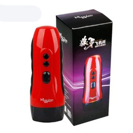 Wholesale Male Masturbator Usb - NEW USB Charged 10 Speed Vibration Girls Realistic Vagina Artificial Pussy Male Electric Masturbator Adult Sex Toys for Men