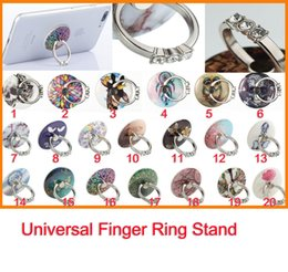 Wholesale Finger Popping - Fashion Pop Stand Cute Cartoon Pictured Design Circle Finger Ring 3M holder for Iphone Universal Phone Pad Tablets 10pcs