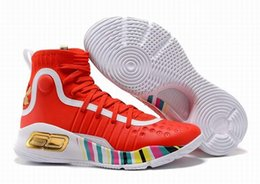 Wholesale Hot Basketball Shoes - MVP Currys 4 Mens Basketball Shoes Sneakers Hot Sell Athletics Sports Sneakers Top Quality Size 40-46
