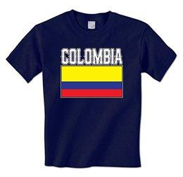 Wholesale America Flag T Shirt - Brand T-Shirt Men 2017 Fashion man t shirt Bold Colombia Flag Lettering -Colombian South America Pride Mens T-Shirt