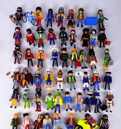 Wholesale Princess House Set - oys Hobbies Action Toy Figures 5pcs 5.5cm Playmobil toys set original 2016 New Playmobil police pirate princess horse house action figure...