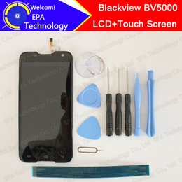 Al por mayor- 100% Original Blackview BV5000 Pantalla LCD + Pantalla táctil 1280X720 5.0 pulgadas Asamblea para Blackview BV5000 + herramientas desde fabricantes