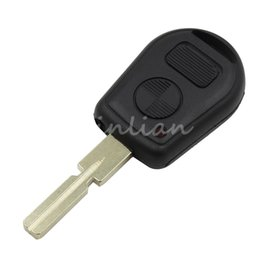 Wholesale Bmw E36 Remote - New Remote Fob Case Replacement Car Key Shell 2 Buttons Key Case Cover Protection Fob for BMW E38 E39 E36 Z3