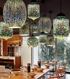 Wholesale Ce Design Hotel - 2017 New 3D Plated Glass Globe LED pendant lights Tom dixon led lights led lamp pendant lamp spark Design for holiday lighting MYY