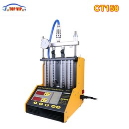 Wholesale Ultrasonic Testers - AUTOOL CT150 4 Cylinder Ultrasonic FUEL Injector Mechanical Tester streamlining 4 220V 110V CT-150 English Panel Upgrade Ver