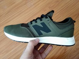 Wholesale Eva Letter - 2017 women men's N letter Sport Shoes Sneakers Running Shoes n Men Women Sneakers running shoes size eur 39-44 white black green