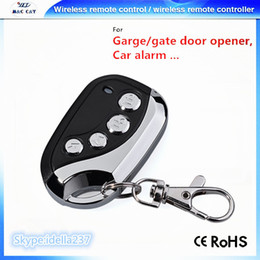 Wholesale Automatic Door Remote - Wholesale- DHL Shipping free! 433mhz Wireless remote control Face to face duplicator for Garage Automatic Gate Door