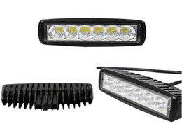 Wholesale Led Lighting Ip 67 - High intensity DC10-30V,6*3W led work lights,grill lights,strobe waning lights,front headlamp,waterproot IP 67