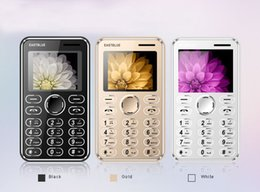 Wholesale Mp3 Luxury - 2017 new arrival free shipping mini card luxury cell phone unlocked with camera remote function Mp3 FM