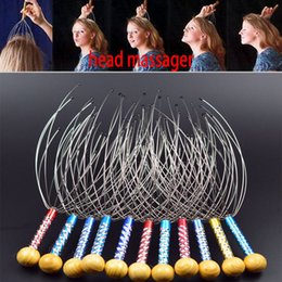 Wholesale Massage Head Claw - Head Massager Claw Octopus Hand Massage Head Neck Scalp Massager Stainless Steel Germinal Scalp Hair Care Massage WX-C47