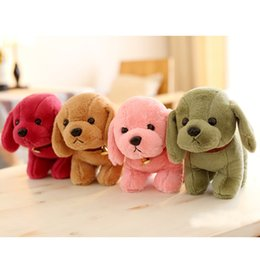 Wholesale Wholesale Stuffed Animals For Babies - 2017 NEW Simulation Puppy Cute Dog Stuffed Animal Soft Plush Creative toys for baby gift Free Shipping