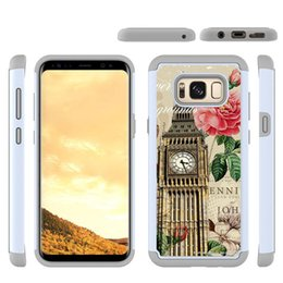 Wholesale zte blade cases - For ZTE Blade X Prestige 2 Moto E4 Colorful Shock Resistant Hybrid Phone Case Cover for Samsung note 8 s8 Plus IPhone X 6s 7 8 Plus OPP
