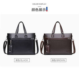 Wholesale Cheap Bag Shoulder For Men - Cheap Fashion Real Leather Shoulder Business Bag For Man Travel Designer Handbags The Best Gift Backpacks High Quality Men's Computer Bags