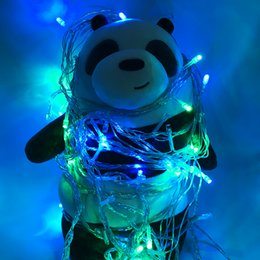 Wholesale Twinkling Led Christmas Lights Strings - DHL fast ship 10m 20M 30M 50M 60m 100-600 LED String Fairy Lights Xmas Decor lights Red Blue white  Colorfull Wedding lights Twinkle light