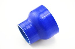 Wholesale Silicone 76mm - Silicone intake connecting pipe   turbocharger special silicone tube   silicone tube of automotive power conversion 51mm 76mm
