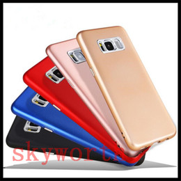 Wholesale painted keys - Case for iphone X 10 8 7 plus Soft Rubber TPU Back Cover for Samsung Galaxy Note 8 S8 Metal Paint Button Key