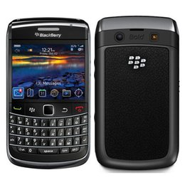 Mobiltelefone tastaturen online-Generalüberholte Original Blackberry Bold 9700 Entsperrte Handy 3G Smartphone 2,44 Zoll 3.15MP Kamera WIFI GPS Qwerty Tastatur DHL 1St