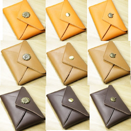 Wholesale Hand Made Leather Purses - Hand made Lady Vintage alloy decorated wallet, 5 kinds of decoration ,button closure, high quality genuine cowhide leather purse,3 colors