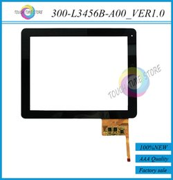 Wholesale Dpt Digitizer - Wholesale-New 9.7'' inch Ployer Tablet PC MOMO11 Bird DPT 300-L3456B-A00_VER1.0 Capacitive Touch screen panel Digitizer Free shipping