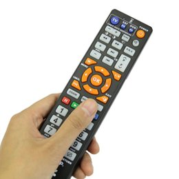 Wholesale Smart Tv Devices - Wholesale-Universal Smart Remote Control Controller With Learn Function For TV SAT DVD infrared devices For chunghop