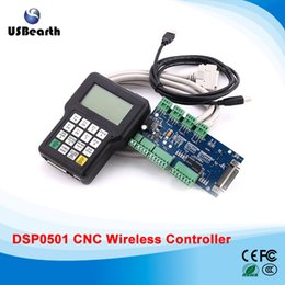 Wholesale Dsp Controllers - CNC wireless channel for DIY CNC router DSP controller 0501 DSP handle remote English version CNC controller
